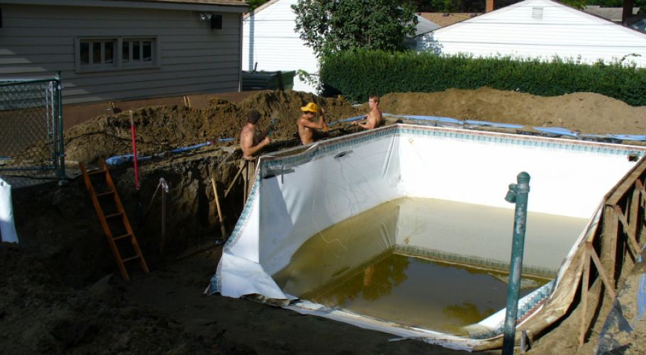 Swimming Pool Wall Replacement