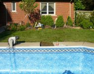 Wood Wall Vinyl liner replacement Michigan pool products