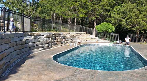 Saline Pool Renovation
