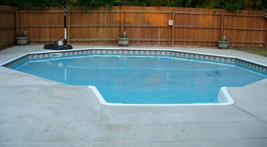 Inground Vinyl Liner Pool Thomas Pool Service