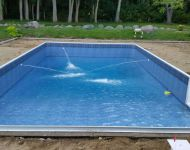 Swimming Pool Coping and Vinyl Liner Installation Dexter, MI