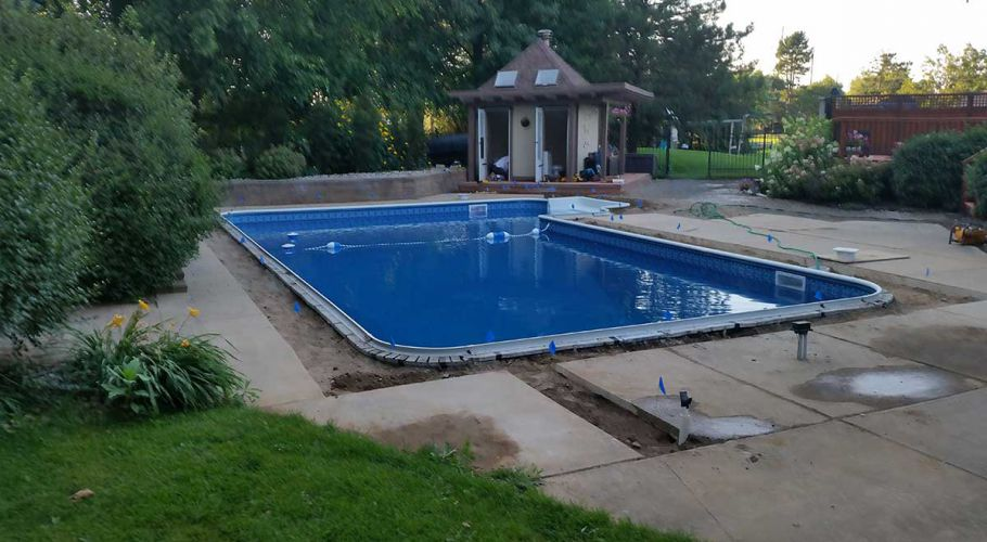 Swimming Pool Coping Replacement Ann Arbor, MI