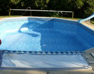 Inground Vinyl Liner Pool Install
