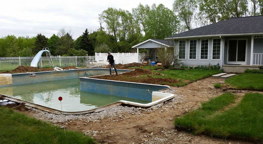Thomas Pool Service Total Swimming Pool Renovation Saline, MI. Thomas Pool Service