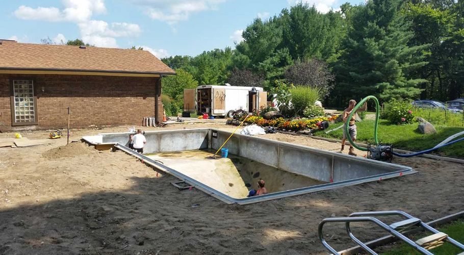 Swimming Pool Renovation Dexter, MI