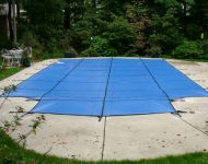 Premier Swimming Pool Products Safety cover installation Farmington Hills, MI. Thomas Pool Service
