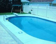 Beautiful In-ground Swimming Pool Renovation By Thomas Pool Service, livonia, MI.