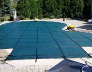 In-ground swimming pool safety cover Brighton, MI. Thomas Pool Service