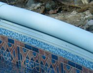 CP2 Aluminum Coping Installation on a Pacific Pool Wall by Thomas Pool Service