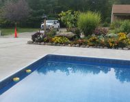In-ground vinyl liner Replacement near Ann Arbor, MI.
