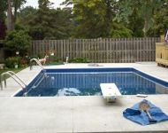 Inground Vinyl Liner Swimming Pool Repair