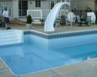Pool liner Repair on a Cornwell Pool & Patio Pool
