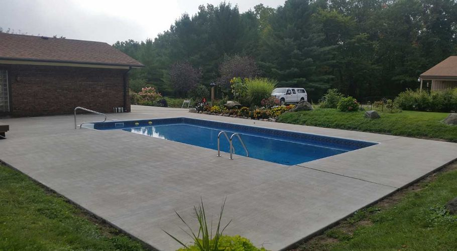Latham Products Pool Liner Dexter, MI