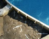In-ground Pacific pool coping & concrete replacement Thomas Pool Services