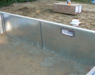 New Kafko pool Wall Installation Ann Arbor, MI Thomas Pool Service