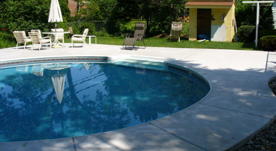 In-ground vinyl liner Pool renovation Thomas Pool Service, Pinckney, MI