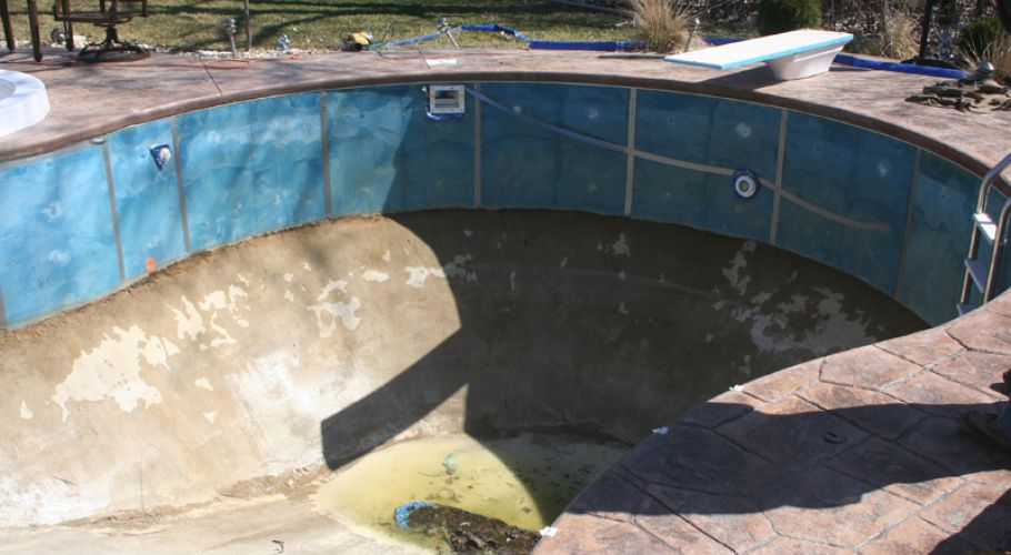 Polymer Wall In-Ground Pool Liner Installation Saline,MI