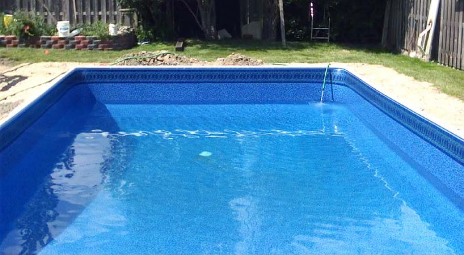Inground Pool Coping & Pool Liner Replacement (Novi)