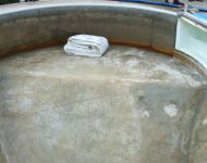 Pool Liner Repacement on a John Austin Pool