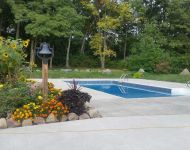 In-ground Vinyl Pool renovation Dexter,MI