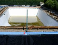 Inground vinyl liner renovation