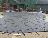 Latham Products Mesh & Solid Safety Covers Thomas Pool Service Pinckney, MI