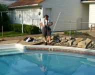 In-ground swimming pool leak detection Plymouth, MI. Thomas pool Service