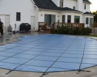 Pool Safety Cover Installation services White Lake, MI. Thomas Pool Service Pinckney, MI.